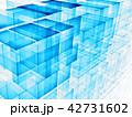 キューブ 立方体 アブストラクトのイラスト 42731602