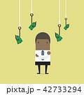 アフリカ人 アフリカ産 ビジネスのイラスト 42733294