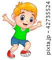 少年 子 子供のイラスト 42735524