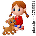 動物 子 子供のイラスト 42735531
