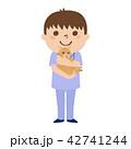 男性 獣医 獣医師のイラスト 42741244