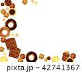 焼き菓子の背景 42741367