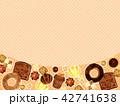 焼き菓子の背景 42741638