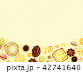 焼き菓子の背景 42741640