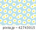 目玉焼きのパターン 42743015