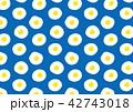 目玉焼きのパターン 42743018