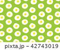 目玉焼きのパターン 42743019