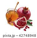 はちみつ 蜂蜜 蜜の写真 42748948