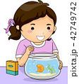 サカナ 魚 魚類のイラスト 42749742