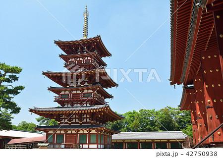 奈良・薬師寺 42750938