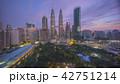 空撮 都市 マレーシアの写真 42751214