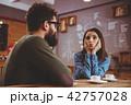コーヒー タブレット レストランの写真 42757028