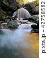三日月の滝・杉田川渓谷(福島県・大玉村) 42758582