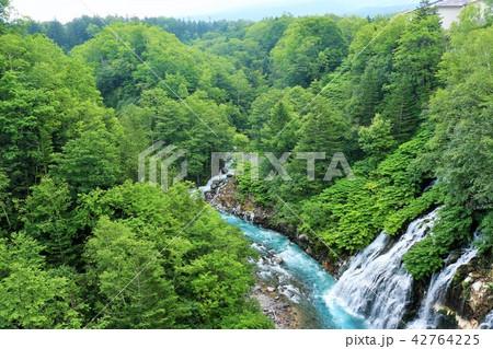 北海道 しらひげの滝 42764225