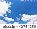 青空 晴れ 快晴の写真 42764250