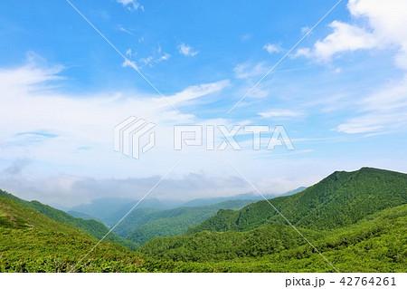 北海道 知床峠からの展望風景 42764261