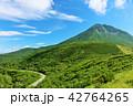 晴れ 北海道 山の写真 42764265