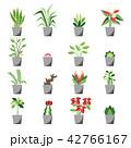 植物 アイコン ベクターのイラスト 42766167