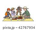 祖父母とピクニック 42767934