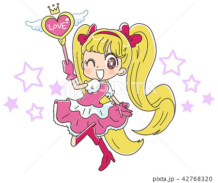 魔法少女のイラスト 42768320