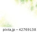 新緑 水彩 背景イラスト 42769138