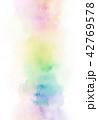 水彩 にじみ バックグラウンドのイラスト 42769578