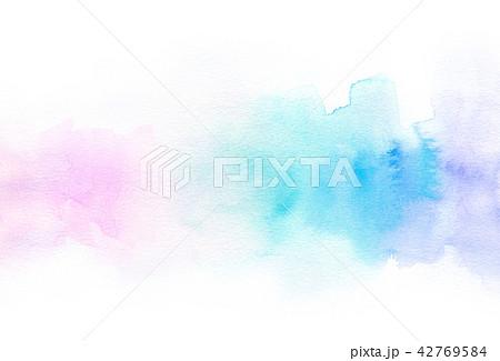 背景素材 水彩テクスチャー 42769584