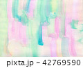 水彩 にじみ バックグラウンドのイラスト 42769590