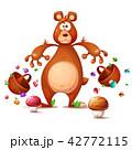 くま クマ 熊のイラスト 42772115