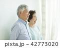 シニア 夫婦 人物の写真 42773020