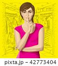 女性 メス 人物のイラスト 42773404