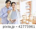 夫婦 カップル 妊婦の写真 42773961