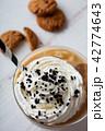 アイスカフェオレ コーヒー アイスコーヒーの写真 42774643