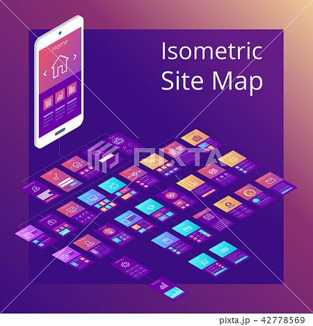 Isometric Site Map 42778569