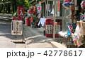 夏のよくある風景 屋台 出店 42778617