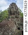 カンボジア アンコールワット 世界遺産の写真 42778829
