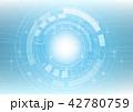 テクノロジー バックグラウンド バックグランドのイラスト 42780759