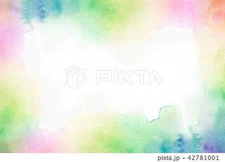 背景素材 水彩テクスチャー 42781001