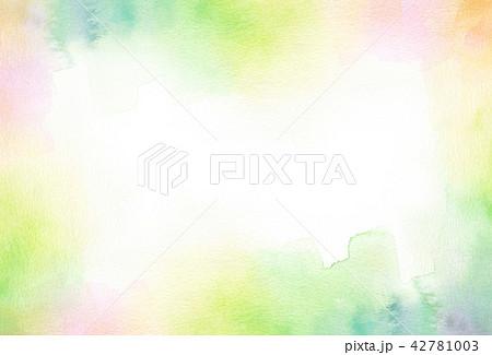 背景素材 水彩テクスチャー 42781003