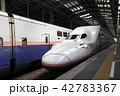 新潟駅に停車中の上越新幹線Maxとき号 42783367