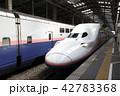 新潟駅に停車中の上越新幹線Maxとき号 42783368