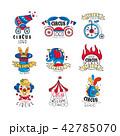 サーカス シンボルマーク ロゴのイラスト 42785070