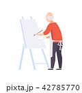 描画 絵画 絵画制作のイラスト 42785770