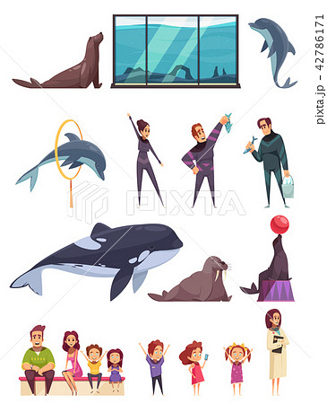 Dolphinarium Essential Characters Set 42786171