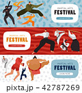 Martial Arts Festival Horizontal Banners 42787269