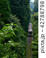 久留里線 森の谷 景色の写真 42788798