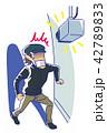 泥棒対策防犯カメラ 42789833