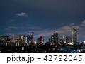 新宿 ビル群 ビジネス街の写真 42792045