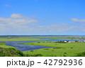霧多布湿原 琵琶瀬川 展望の写真 42792936