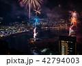 (静岡県)熱海100万ドルの夜景と海上花火 42794003